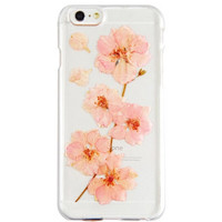 Pressed Pink Flower Iphone Cases