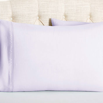 King Kumi Basics Cases, Misty Lilac, Set of 2, Pillow Cases