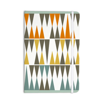 "Pellerina Design ""Diamond Kilim"" Triangles Everything Notebook"