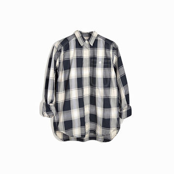 Vintage Heritage Plaid Shirt / Single Needle Shirt - women's medium