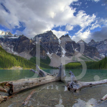 Moraine Lake Canvas Wall Art