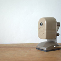 1950s Pencil Sharpener, Berol Pencil Sharpener, 1950s Office Decor