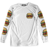 Burger Long Sleeve Tee