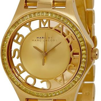 Marc by Marc Jacobs Henry Gold-Tone Watch MBM3338