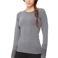 North Star Seamless L/S - Black Heather | ALO Yoga