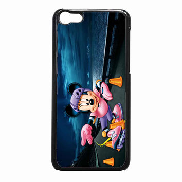 mickey roller skates bd12e9c6-dbc5-4ca2-af6b-07e6a0530212 FOR iPhone 5C CASE *NP*