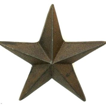 Cast Iron Nail Star XLarge -Set Of 6
