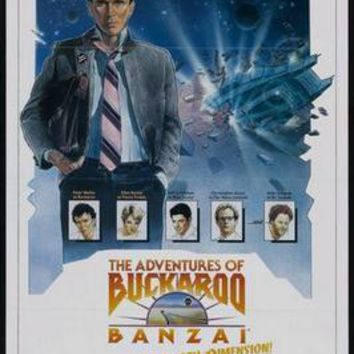 Sale! Buckaroo Banzai Movie Poster 24in x36 in