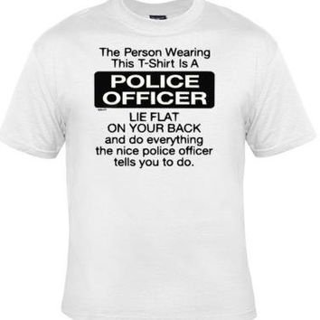 Tshirts: police officer  screen print cool funny Humorous clothes T Shirts Tees, Tee T-Shirt designs graphic