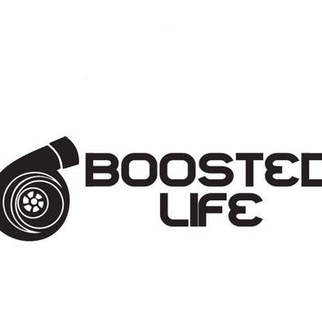 Boosted Life Decal