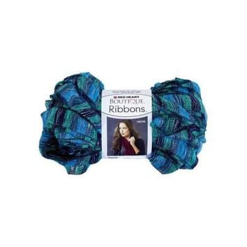 Metallic Blue & Teal Laguna Ribbons Yarn ( Case of 72 )