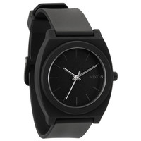 Nixon The Time Teller P Watch Matte Black One Size For Men 16825318201