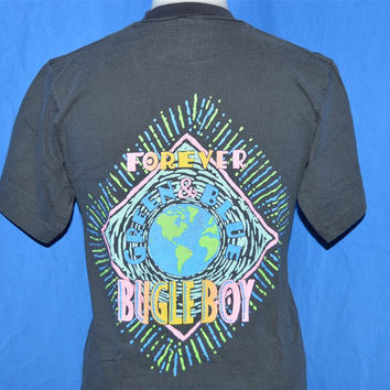 90s Green Earth Forever Bugle Boy t-shirt Youth Large