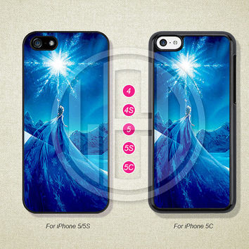 Disney Frozen Phone Cases, iPhone 5S Case, iPhone 5 Case, iPhone 5C Case, iPhone 4 case, iPhone 4S case, Case For iPhone --L51067