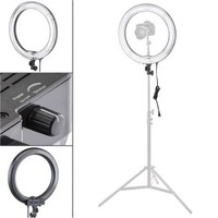 "Photo/Video 19"" AC Powered 600W 5500K Fluorescent Ring Light With Bag - Walmart.com"