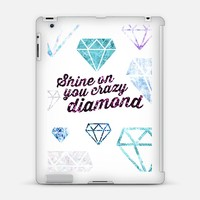 Shine On You Crazy Diamond (iPad) iPad 3/4 case by Tracey Coon | Casetify