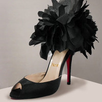 Christian Louboutin Carnaval Black Sandals