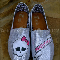 Monster High Custom TOMS for Kids, Teens & Adults