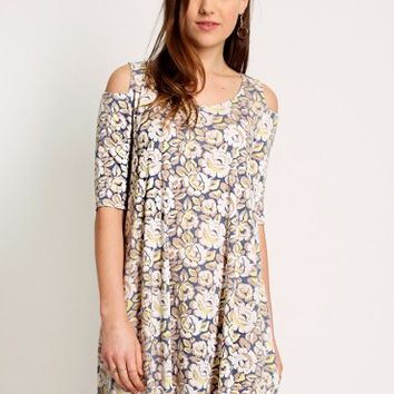 Distant Lover Floral Dress