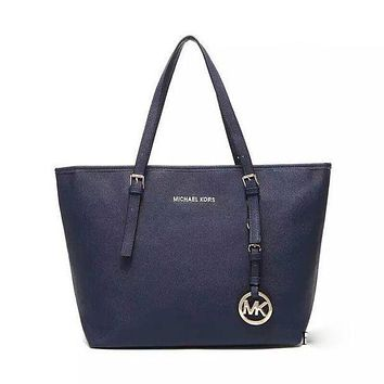 MICHAEL KORS MK Women Shopping Leather Handbag Tote Satchel Shoulder Bag H