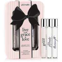 Live with Grace & Love Rollerball Trio