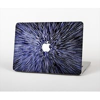 The Purple Zooming Lights Skin Set for the Apple MacBook Pro 15""
