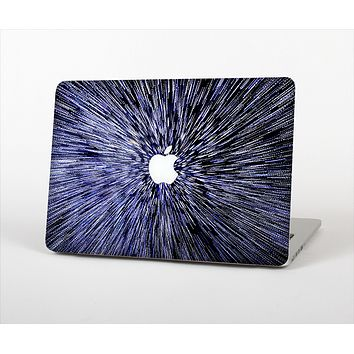 The Purple Zooming Lights Skin Set for the Apple MacBook Air 13""