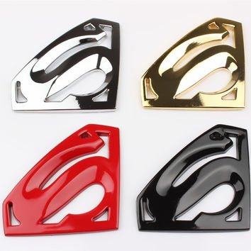 3D Car Racing Auto Decals Badge Emblem Sticker- Superman = 1946372996