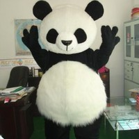 Cute Giant Panda Baby Mascot Costume Cosplay Cartoon Character