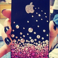apple iphone 5s case, kawaii iphone 5c case,unique iphone 5 case, iphone 4s case bling, rhinestone iphone 4 case, bling iphone 4s case,