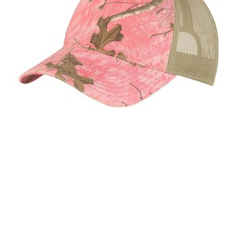 Port Authority Unstructured Camouflage MeshBack Cap. C929