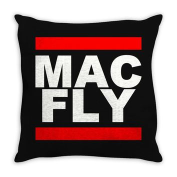MAC - FLY Throw Pillow