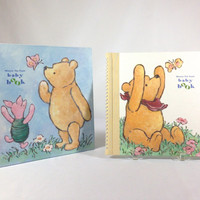 Classic Winnie The Pooh Baby Memory Book Keepsake Baby Book Winnie The Pooh Baby Scrapbook Baby Record Book Baby's Firsts