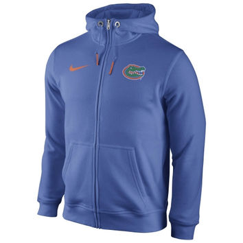 Florida Gators Nike Icon Club Full Zip Hoodie – Royal Blue