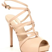Guess Hazzel Platform Sandals | Dillards