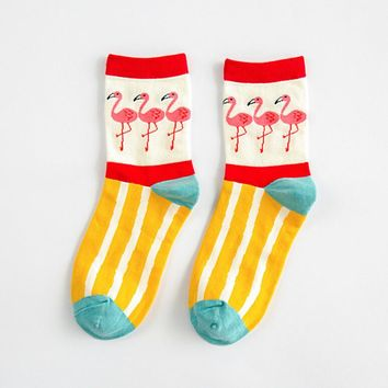 Flamboyant Flamingo Socks (5 Styles Available)