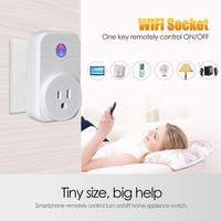 240V Wifi Smart Socket Outlet Wireless APP Remote Control Home Appliance Timing Switch quick wall charger for iOS iPhone Android