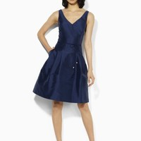 Silk-Blend Dress - Sale   Dresses - RalphLauren.com