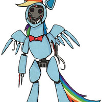 Rainbow Dash - Five Nights at Freddy's