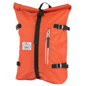 Poler: Retro Rolltop Backpack - Burnt Orange (532021-BNT-OS)