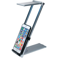 Cta Digital Ipad And Iphone And Tablet And Smartphone Foldable Led Desk Lamp Stand