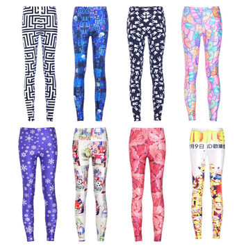 Womens Trendy Slim Hip Cool Leggings