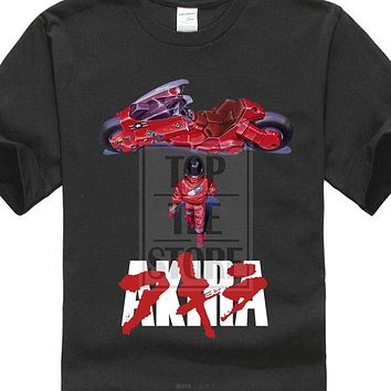 Anime T-Shirt cosplay Akira Anime Movie Manga 1988 T Shirt Black Navy Purple All Sizes S To 4Xl AT_57_4