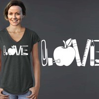 Teacher Love T-shirt | Teacher Gift