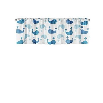 Whale Pattern Valance