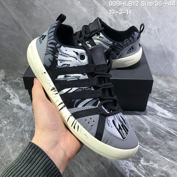 DCCK2 A988 Adidas Terrex boat Retro Camouflage breathable Wire Intervention Water Shoes Black Gray