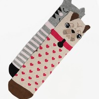 BLONDE & BLONDE Animal Socks | BANK Fashion