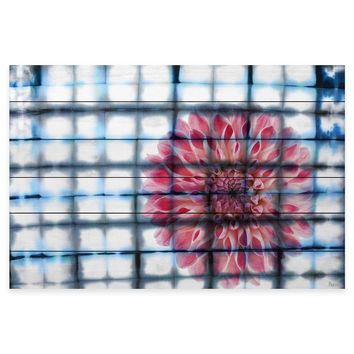 Parvez Taj Caged Peony Wood Wall Art
