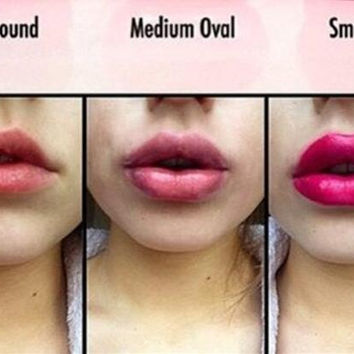 Sexy full lip plumper plump women beauty tools natural red Lips enhancer device S-XL 4 Sizes Lip plump Device