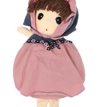 Adorable Cloth Doll Baby Toddler Backpack for Preschool